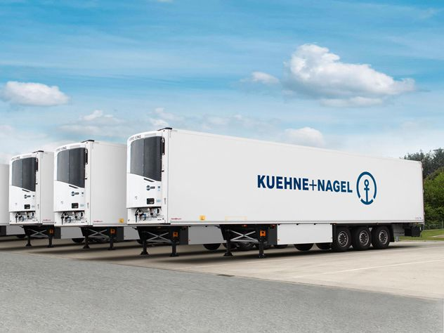 KN PharmaChain for road transport - Pharma and Healthcare Logistics